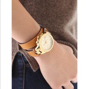 Michael Kors Slim Runway MK2256 Tan Watch